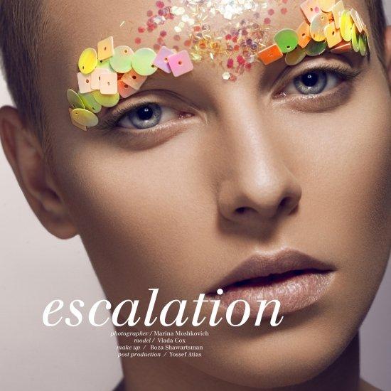 escalation - LIVID  magazine Paris | מרינה מושקוביץ | צילום אופנה, ביוטי ותכשיטים