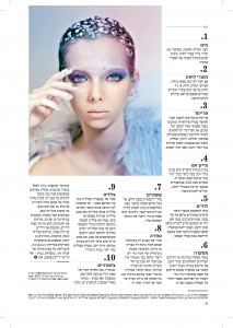 Holographic editorial for Magazina | מרינה מושקוביץ